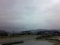 陸前高田の商店街だった廃墟
