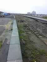 陸前高田の線路